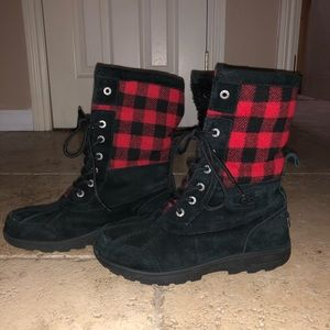 Flannel Ugg boots
